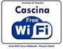 Cascina free WiFi