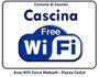 Cascina free WiFi